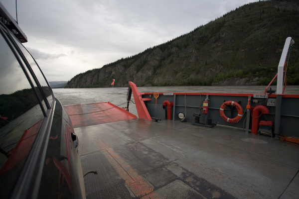 Peel River Ferry